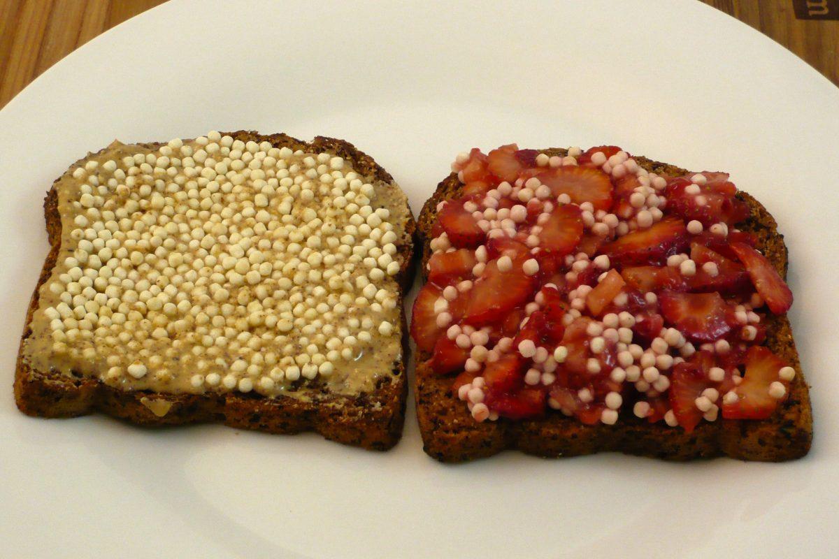 Nut Butter & Strawberry Jam