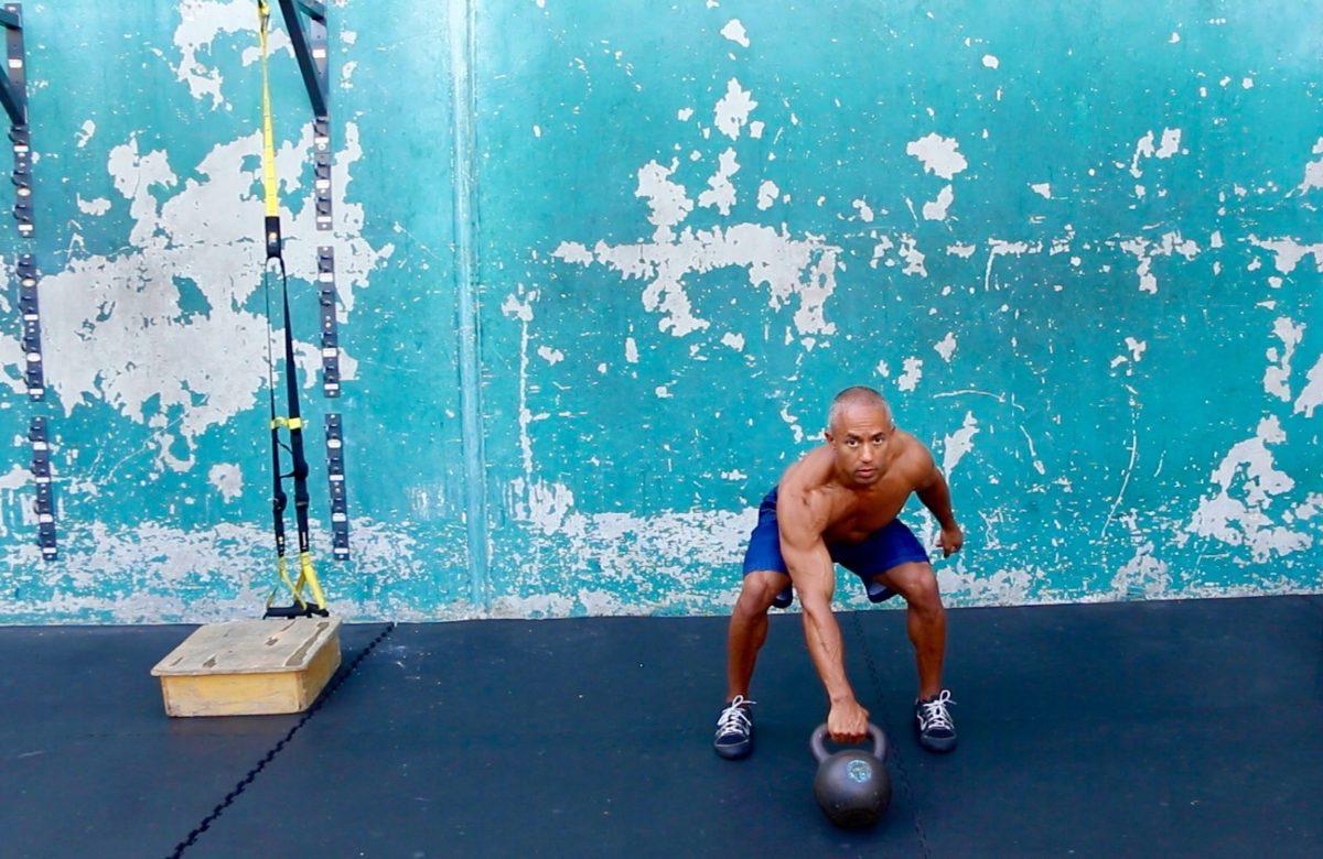 Adam Friedman Advanced Athletics Athlete For Life Kettlebell Swing Clean Bottom Exercise