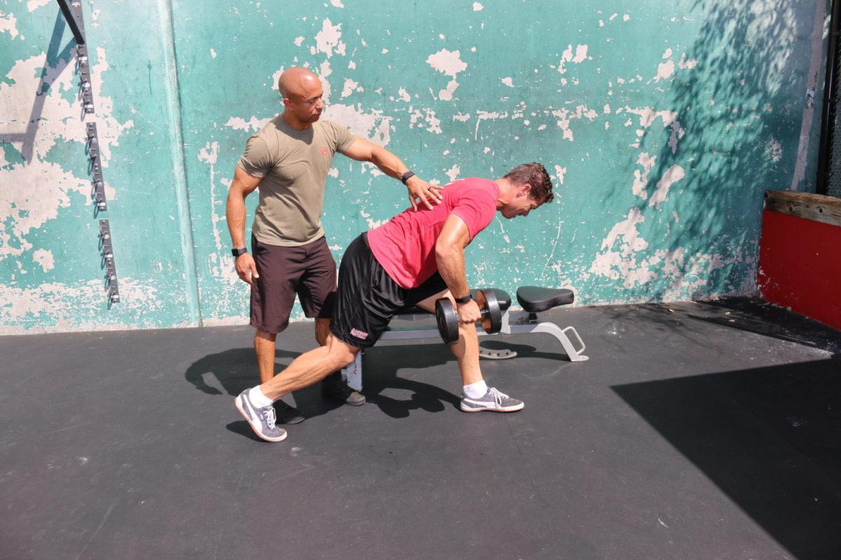 Adam Friedman Advanced Athletics strength training with lighter weights better athlete
