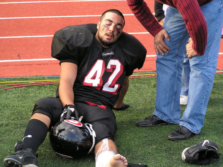 Adam Friedman Advanced Athletics Injured Rye football player mindset attitude recovery