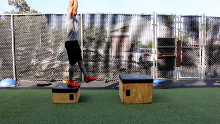 Adam Friedman Advanced Athletics Depth Drop Starting Position Athleticism