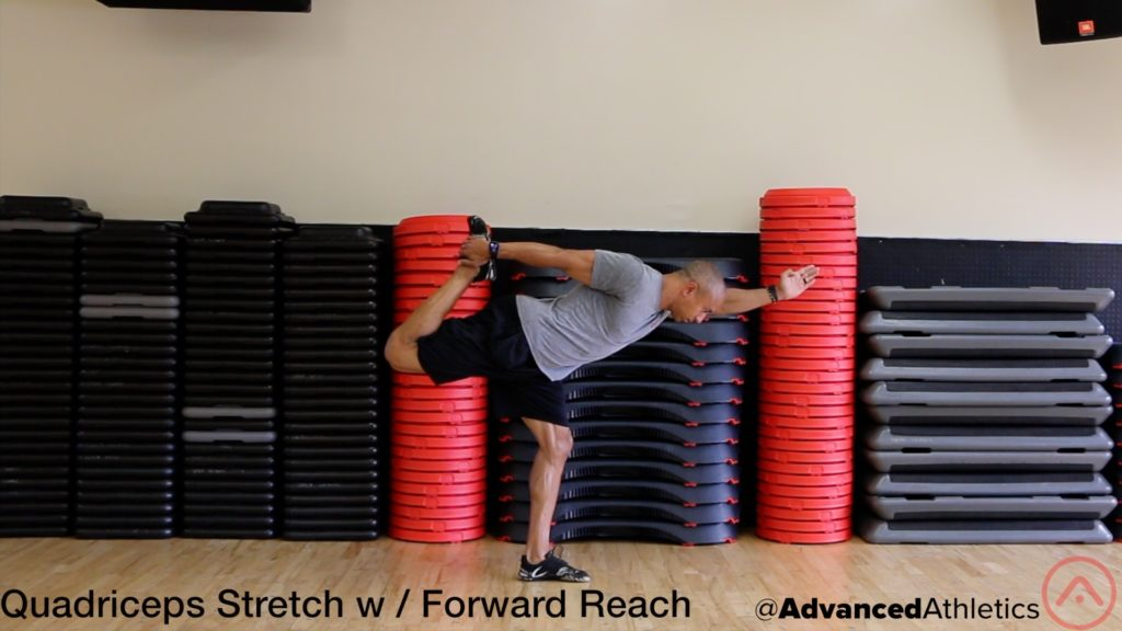 Adam Friedman Advanced Athletics Quad Stretch With Forward Reach Mobility
