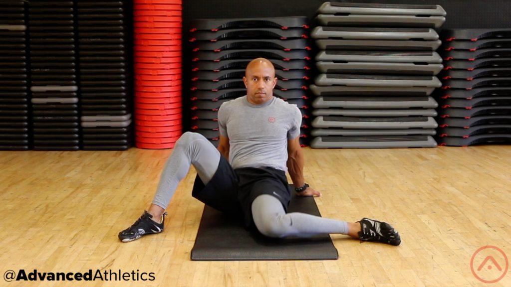 Adam Friedman Advanced Athletics Hip Sleeper Stretch Mobility