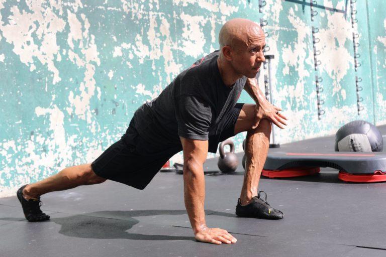 Adam Friedman Advanced Athletics Hip Flexor Stretch Mobility SARM Athlete For Life