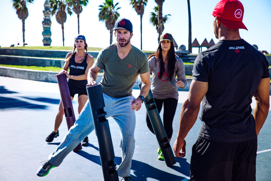 Adam Friedman Advanced Athletics Athlete For Life Personal Trainer Training Outside Venice Beach