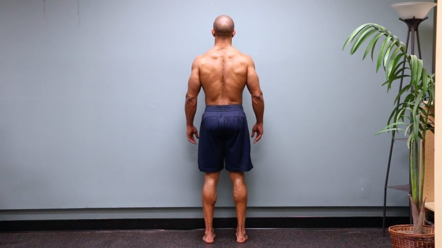 Adam Friedman Advanced Athletics Athlete For Life Posterior Posture View Overcoming Lower Back Pain