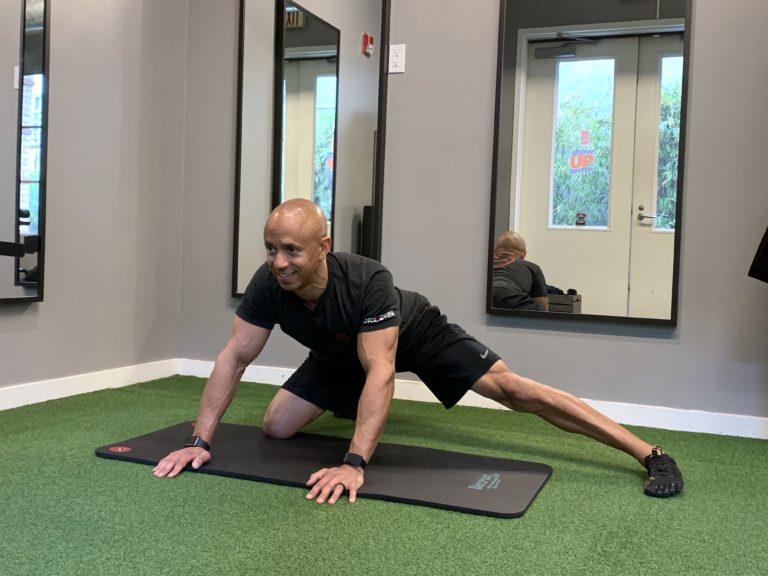 Adam Friedman Fitness Expert Athlete For Life Joint Health Lumbo-Pelvic Hip Stretch