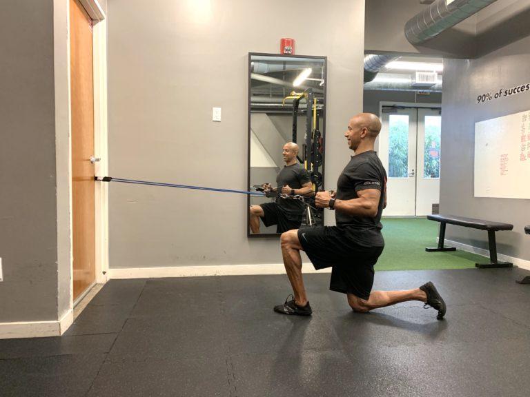 Adam Friedman Fitness Expert Advanced Athletics Athlete For Life SARM Stability Exercise Resistance Bands Horizontal
