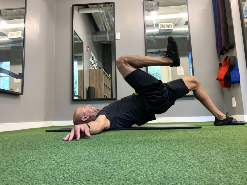 Adam Friedman Advanced-Athletics Fitness Expert Search and Rescue Mobility Lumbo Pelvic Hip Quadriceps Stretch