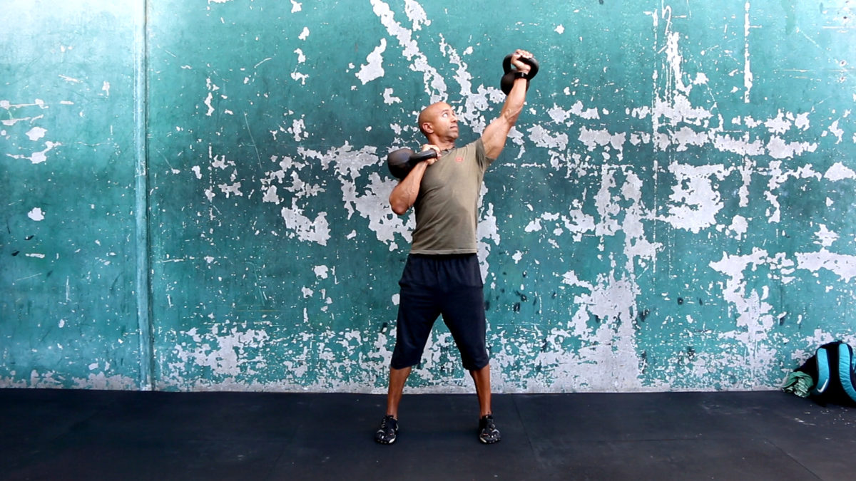 Adam Friedman Advanced Athletics Fitness Expert Overhead Press Tips Kettlebells