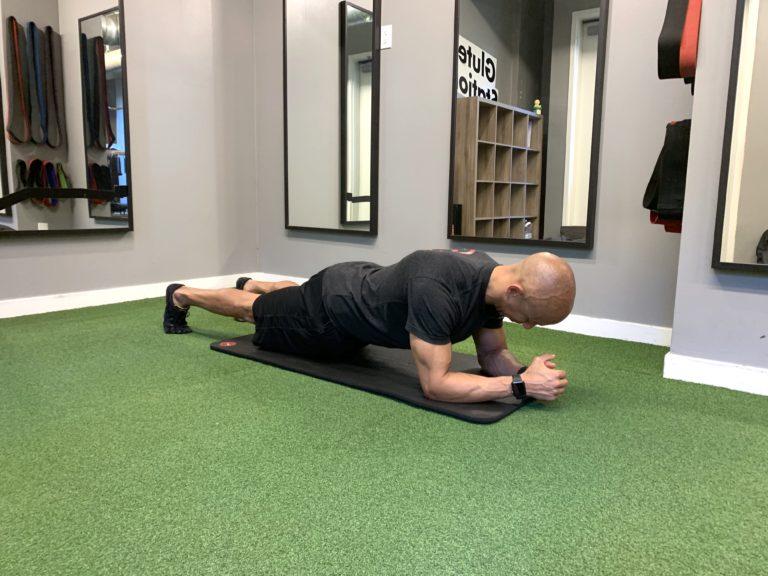 Adam Friedman Advanced Athletics Strength Coach Isometric Muscular Contraction Plank